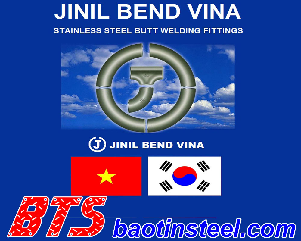 Price list of latest Jinil Bend Vina welding fittings