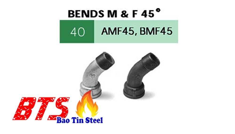 Bends m & f 45 độ