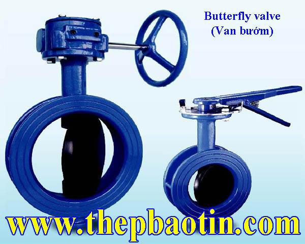 Van bướm tay quay, tay gạt Shin Yi – Đài Loan (Butterfly valve)