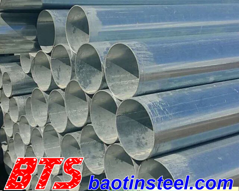 large galvanized steel pipe