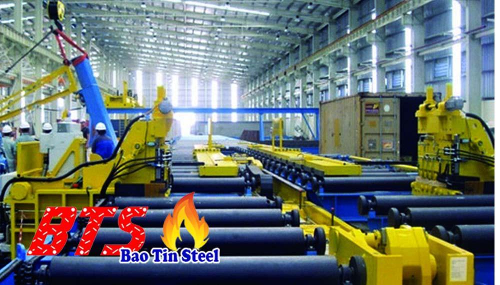 Sản xuất ống thép