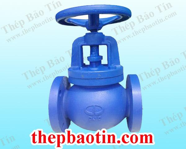 Van cầu gang (Globe valve) – Dae Jin, Korea