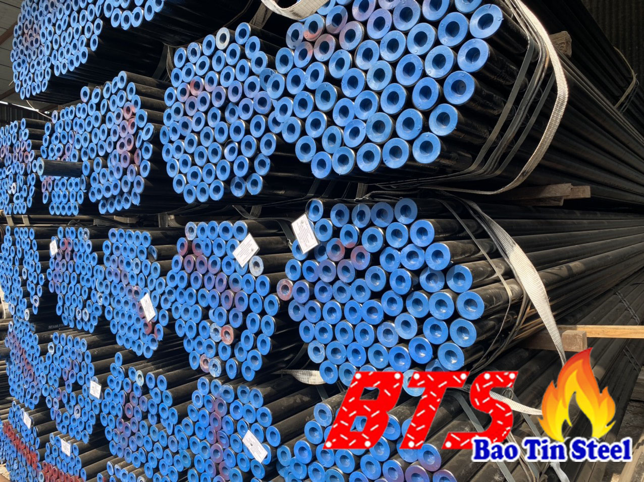 Seamless steel pipe A106 API 5L